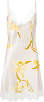 Carine Gilson Décolleté night gown - women - Silk/Polyamide/Rayon - S