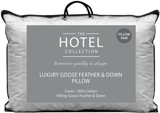 Hotel Collection Luxury Goose Feather & Down Pillow Pair