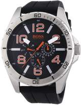 HUGO BOSS Men's 1512945 Silicone Analog Quartz Watch with Dial