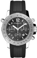 Raymond Weil Men's Automatic Watch with Black Dial Chronograph Display and Black Rubber Strap 7800-SR1-05207