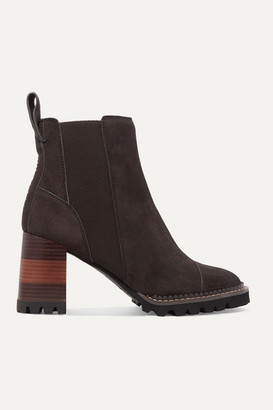 See by Chloe Suede Ankle Boots - Brown