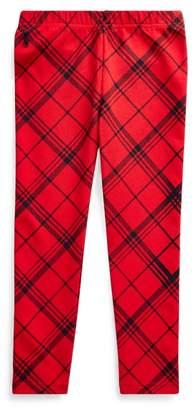 Ralph Lauren Plaid Stretch Jersey Legging
