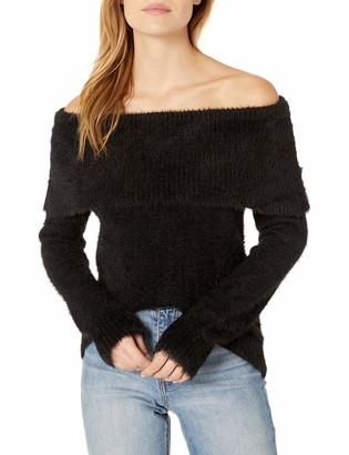 Kensie Women's Fur Yarn Marylin Sweater