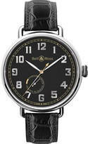 Bell & Ross BRWW197HERSTSCR Vintage WW1 stainless steel and leather watch
