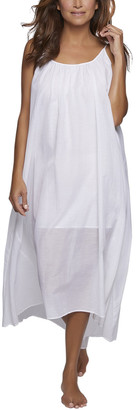 Pour Les Femmes Double Layered Silk-Blend Nightgown