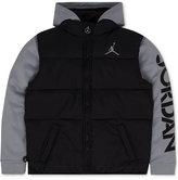 Jordan Classic Layered-Look Puffer Jacket, Little Boys (2-7)