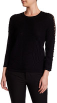 Yoana Baraschi Couture Open Sleeve Sweater