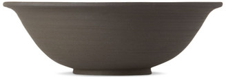 Lily Pearmain SSENSE Exclusive Black and White Serving Bowl