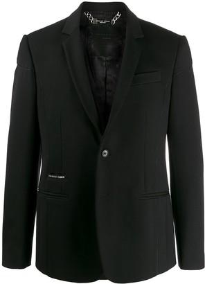 Philipp Plein Button-Up Formal Blazer