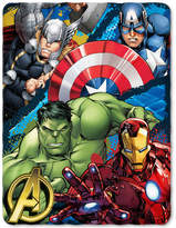 Marvel The Avengers Defend Earth Fleece Throw