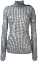 Balmain roll neck jumper