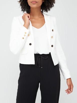 Very Military Blazer - White