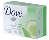Dove Go Fresh Touch Beauty Cream Bar Soap 4.75 Oz / 135 Gr (Case of 48 Bars)