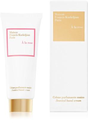 Francis Kurkdjian A la rose Scented hand cream