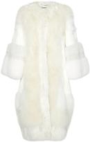 Dolce & Gabbana Oversized Fur Coat