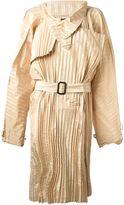 Jean Paul Gaultier Vintage pleated light coat