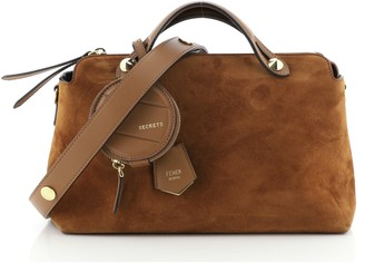 Fendi By The Way Satchel Suede Small