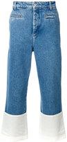 Loewe fisherman trousers - men - Cotton/Calf Leather - 44