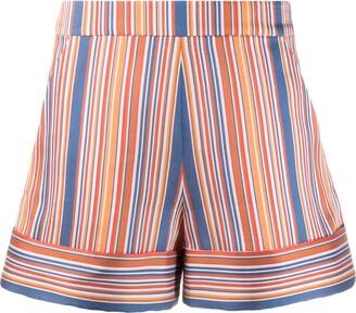 Victoria Victoria Beckham striped shorts