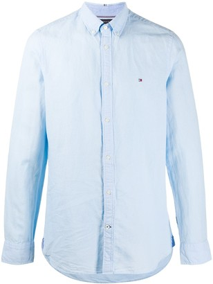 Tommy Hilfiger Button-Down Embroidered Logo Shirt