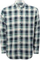 M&Co Farah green check long sleeve shirt