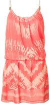Heidi Klein 'Tahiti' drop waist mini dress