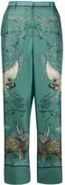 Roberto Cavalli animal-print trousers
