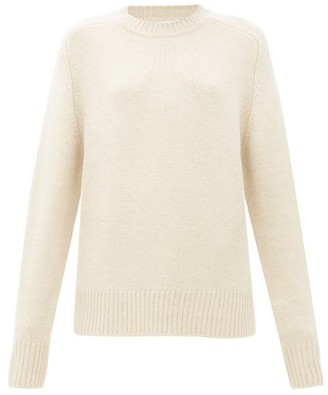 Extreme Cashmere No.123 Bourgeois Stretch-cashmere Sweater - Ivory