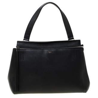 Celine Edge Black Leather Handbags