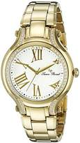 Lucien Piccard Women's LP-16353-YG-22 Elisia Analog Display Quartz Gold Watch