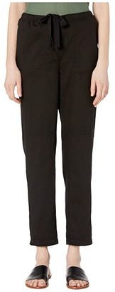 Eileen Fisher Soft Organic Cotton Twill Slim Ankle Pants