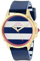 Juicy Couture Women's 1901222 Jetsetter Analog Display Quartz Blue Watch