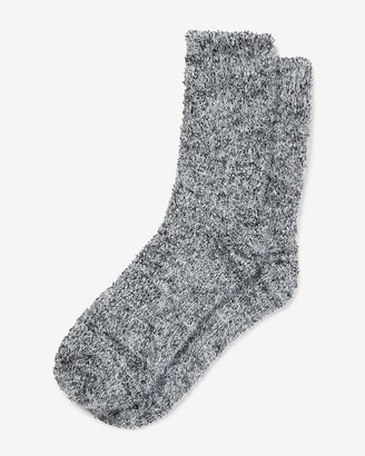 Express Cozy Marled Bootie Socks