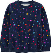 Stella McCartney Star-printed organic cotton sweatshirt