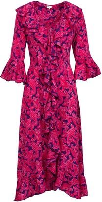 AtLAST Felicity Dress- Pink & Purple