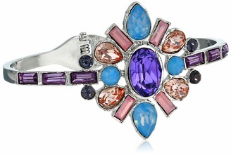 GUESS Women's Hinged Bangle with Stones