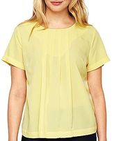 Liz Claiborne Pleated Blouse