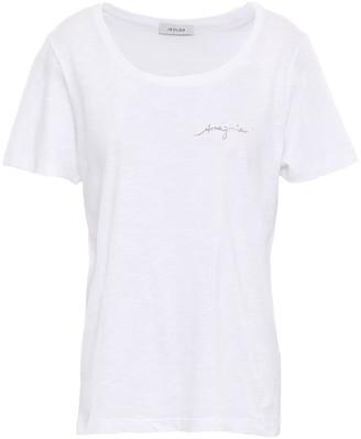 Isolda Slub Cotton-jersey T-shirt