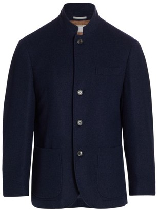 Brunello Cucinelli Cashmere Patch Pocket Jacket