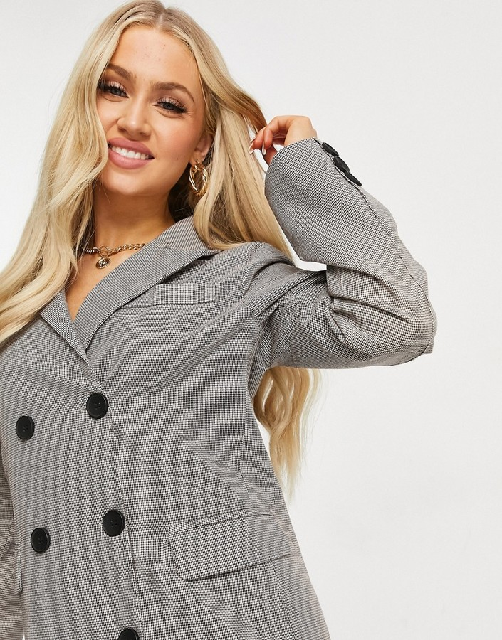 Thumbnail for your product : Parisian blazer dress in check