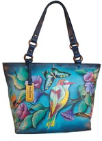 Anuschka Hand-Painted Leather Classic Large Tote