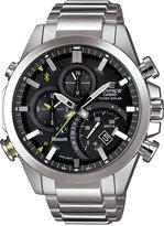 G-Shock Men's Solar Edifice Stainless Steel Bracelet Watch 48x52mm EQB500D-1A