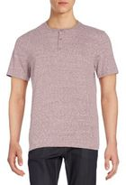 Threads 4 Thought Baseline Organic Cotton-Blend Short Sleeve Henley