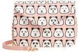 DEB & DAVE ACCESSORIES Panda Print Crossbody Bag