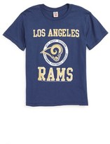 Junk Food Clothing Boy's Kick Off Los Angeles Rams T-Shirt