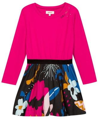 Catimini Bi-Material Dress