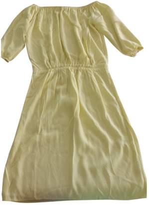 BA&SH Bash Yellow Viscose Dresses