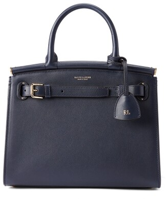 CollectionRalph Lauren Calfskin Medium RL50 Handbag