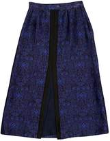 Mother of Pearl Blue Cotton Skirt for Women