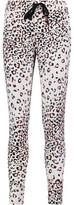 Cosabella Wild West Leopard-Print Stretch-Jersey Pajama Pants